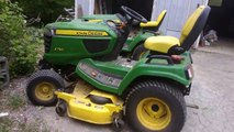 John Deere X740 Ultimate VS John Deere X750