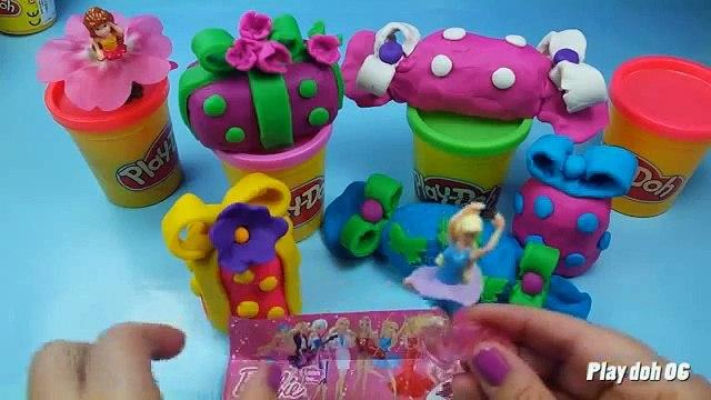 Membuat Minnie Mouse dan Peppa Pig Dengan Play Doh