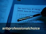 How to Fill PAN Card Application with ITD in India - Video Tutorial - www.anbprofessionalchoice.in