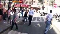 La balade mouvementée du rider Nigel Sylvester dans les rues de New York