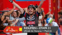 Resumen - Etapa 21 (Alcalá de Henares / Madrid) - La Vuelta a España 2015