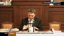 Lubomír  Zaorálek o státní mafii