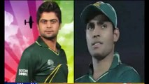 Pakistani team clash during ICC Cricket World Cup 2015
