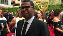 Jordan Peele from 'Key and Peele' on Emmy red carpet chats about Variety Sketch category