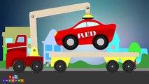 Tow trucks for children - Monster Trucks for children - Tow Trucks with colours