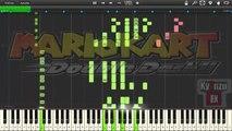 Synthesia- Mario Kart Double Dash Rainbow Road Piano Tutorial