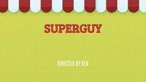 Superguy - Lego stopmotion