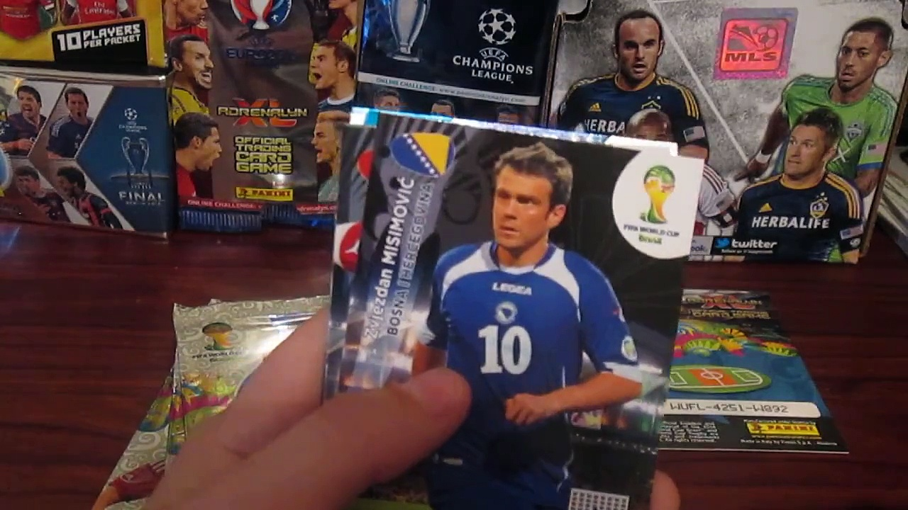 Soccer Card *World Cup Blister Pack* (3)