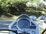 moto hornet 2007 fin de rodage paca