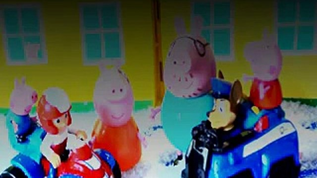 Paw Patrol Episode Ryder Chase Peppa Pigs House Daddy Pig Mammy Pig George pig Animation