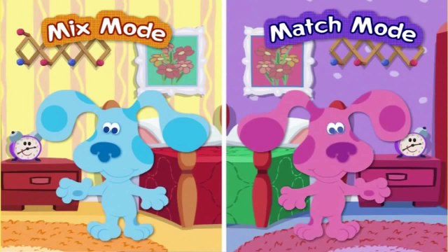 Blues Clues Blue's Mix 'n Match Dressup Full Episode Game