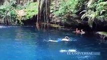 Explora cenotes y ríos subterráneos en Yucatán