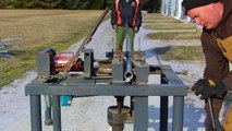 PVC & rebar hoop greenhouse - video dailymotion