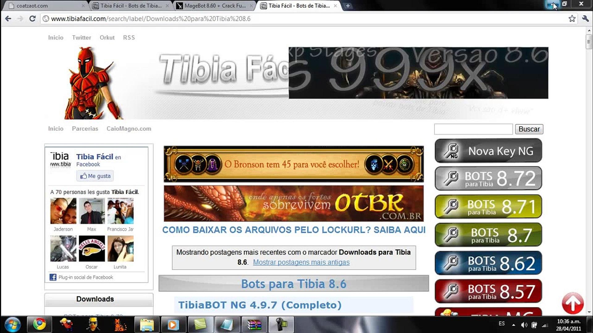Bots Para Tibia 8.6 (magebot,elf NG,bot NG)Full