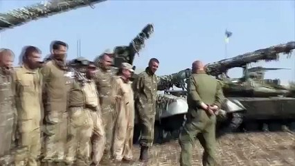 Ukraine News • The Azov Battalion show off their recently formed 'tank force'
