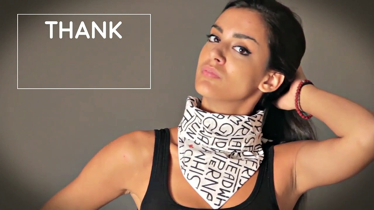 Custom printed scarves and other promotional products