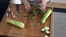 3 recettes de courgettes: pour tous, végétariennes, gluten et lactose free