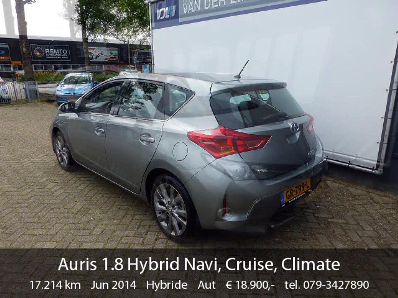 Toyota Auris 18 Hybrid Navi Cruise Climate