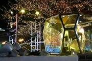 札幌雪祭り夜の様子