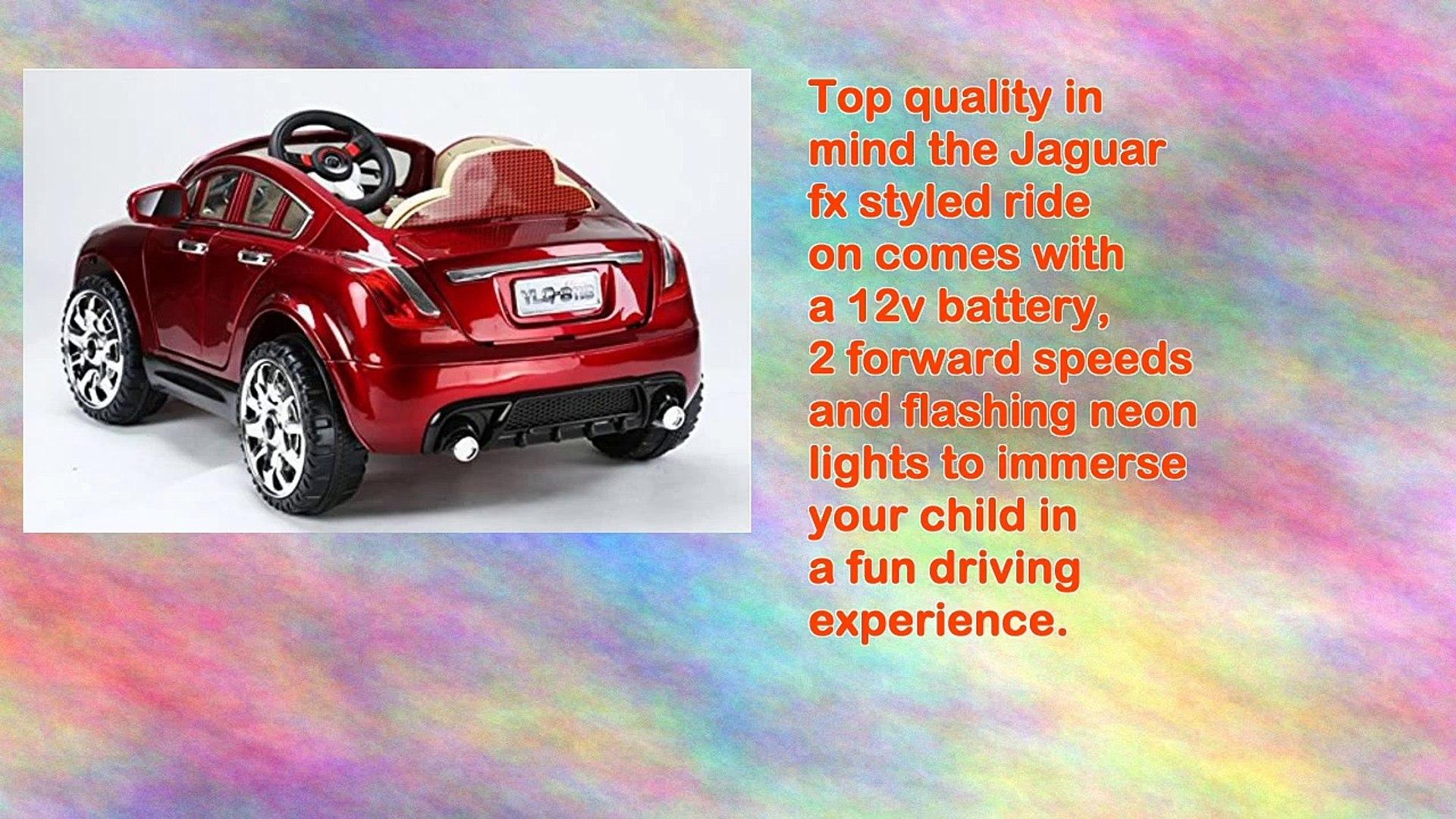 2015 Sport Edition Jaguar Fx Style Kids Ride on Car
