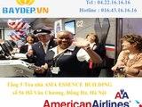 Bán vé máy bay American Airlines đi Santiago de los Caballeros , vé máy bay giá rẻ