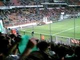 Asse 0-2 Bdx : tifos sud 1