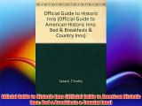 Official Guide to Historic Inns (Official Guide to American Historic Inns: Bed & Breakfasts