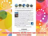 Trekking in the Dolomites: Alta Via routes 1 and 2 with Alta Via routes 3-6 in outline Download