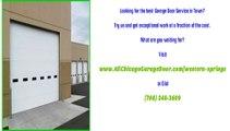 Garage Door Repair Services in Western Springs, IL