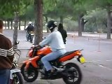 lolo permis moto  circuit lent   oufffffff