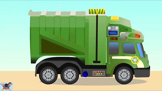 Garbage truck – Monster trucks – Monster trucks for children – Trucks for kids