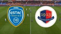 Le résumé du match ESTAC Troyes - SMCaen