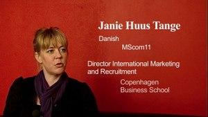 EMScom testimonial: Janie Huus Tange