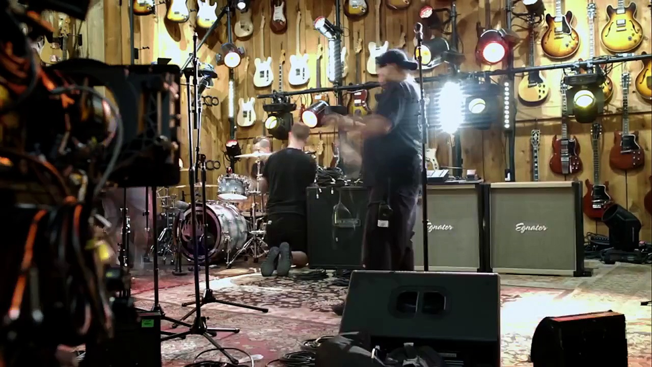 Jason Mraz Behind the Scenes of Guitar Center Sessions