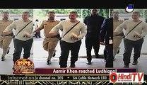 Aamir Khan Reached Ludhiana 14th September 2015  Hindi-Tv.Com