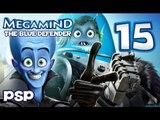 Megamind The Blue Defender Walkthrough Part 15 (PSP) Waterfront Level 5 [BOSS]