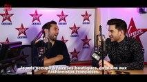 Adam Lambert en interview dans Le Lab Virgin Radio