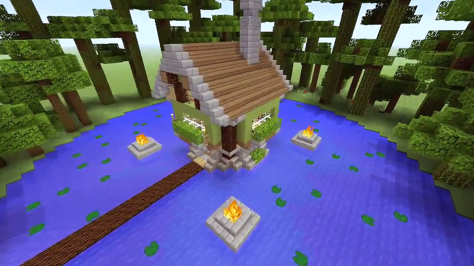 Minecraft Jungle Survival House Video Dailymotion
