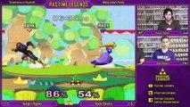 SaP Melee 9/10/15 LF: Hungry Pigeon (Peach/Sheik) vs Andy Shivers (CF)