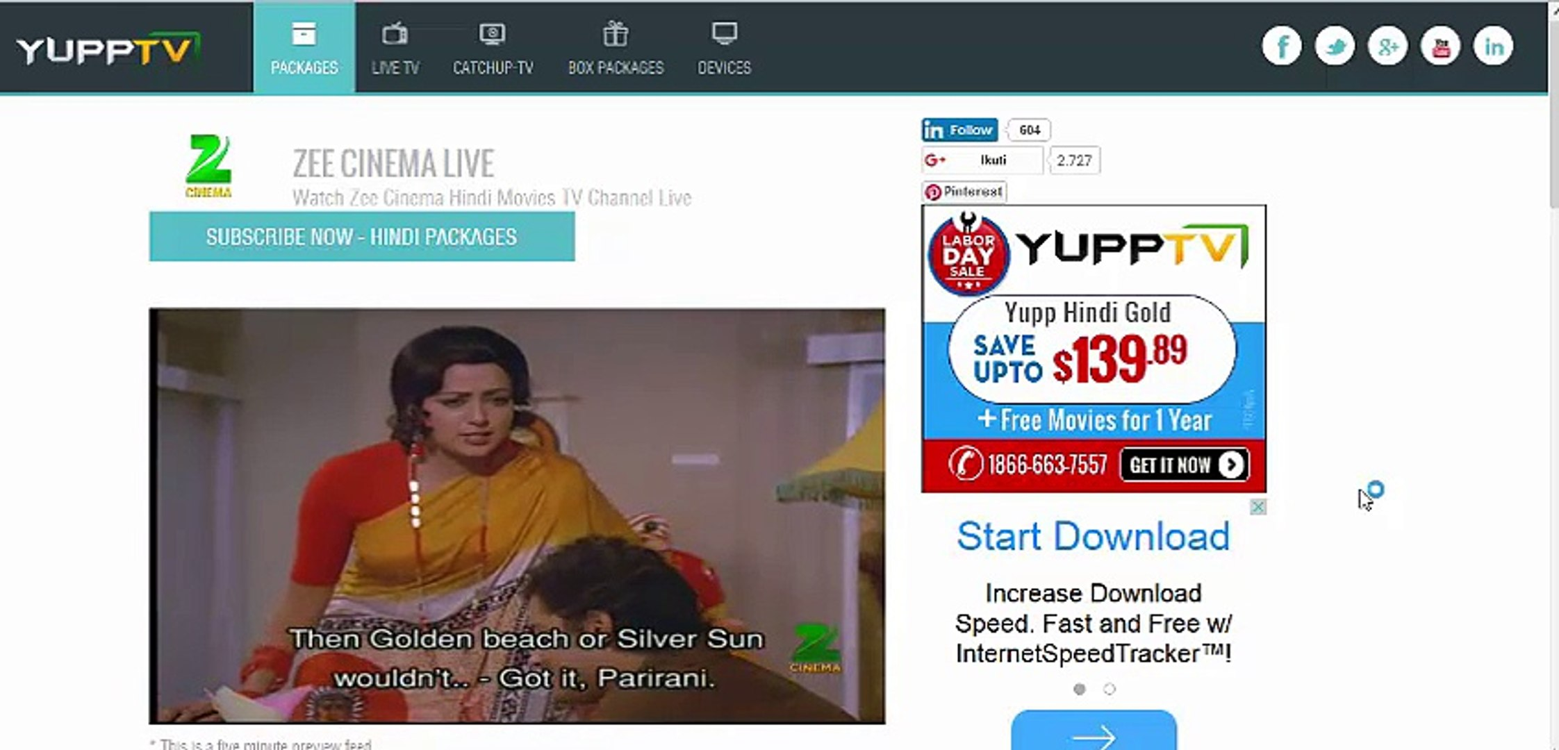 watch old hindi movies live