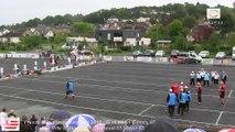 Mène 8, Finale du France Quadrettes Vétérans, Sport Boules, Objat 2015