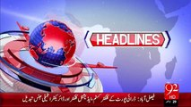 Headlines - 03:00 PM – 14 Sep 15 - 92 News HD