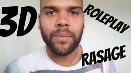 ASMR Rasage pour un ami ROLEPLAY 3D