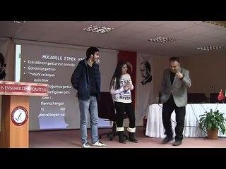 MOTİVASYON SEMİNERİ  ( Stand up tadında)