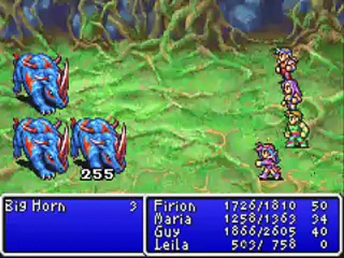 Final Fantasy II - All bosses in 10 minutes