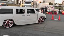 Bagged HUMMER H2 SLAMMED on 30inch 「fairytale」3 ハマーH2 着地