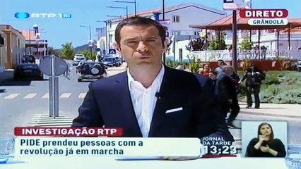 Jornal da Tarde RTP 1 - Reportagem Pide, 25 de Abril - Fernando Pereira