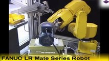 Robotic Deburring with the FANUC LR Mate Series Robot -- Courtesy of Weldon Solutions