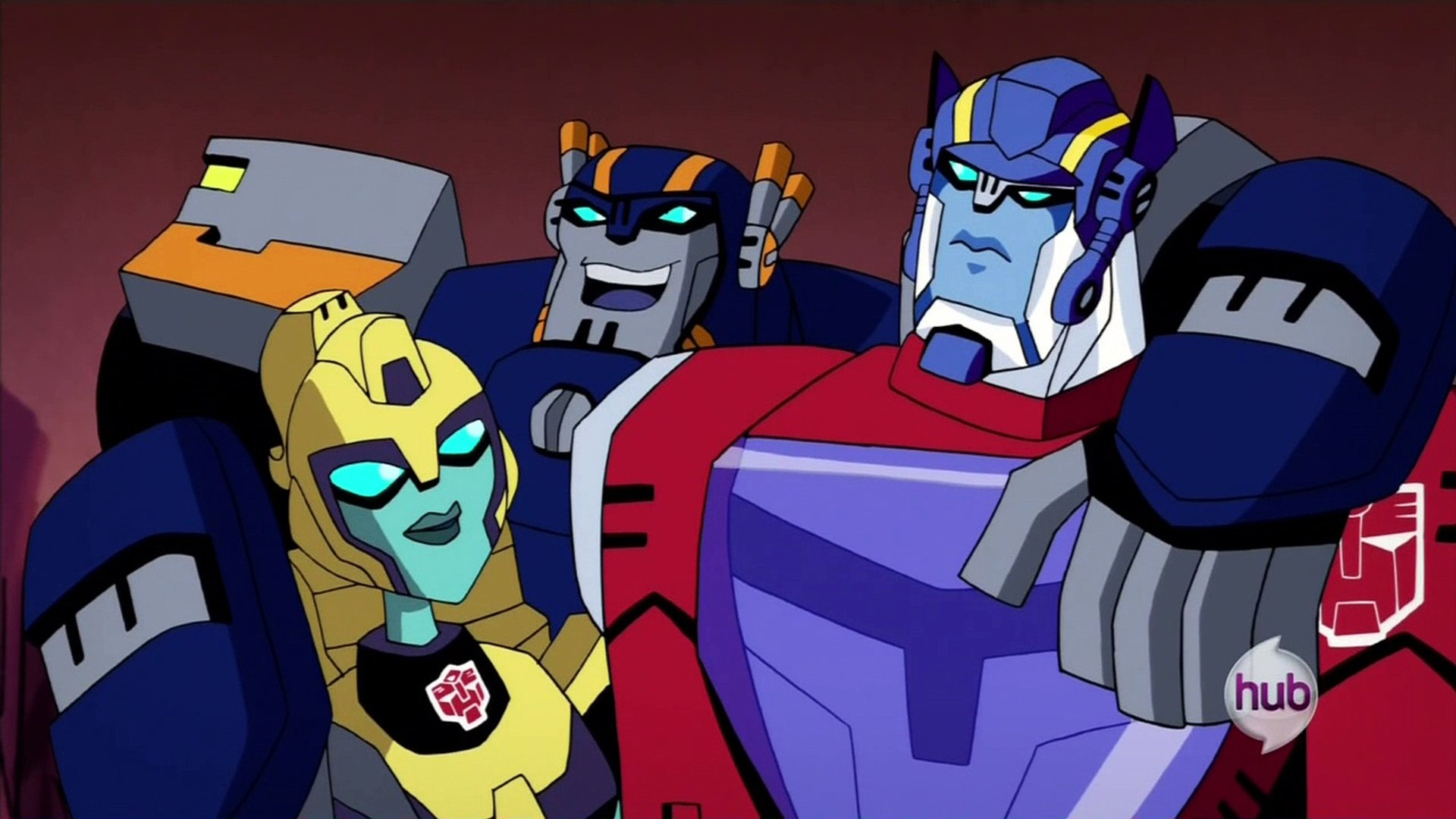 Transformers Animated Along Came A