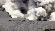 Japon : des touristes évacués après l'éruption du volcan Aso